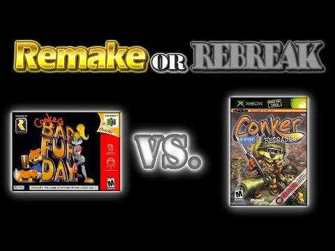 ROR: Conker's Bad Fur Day (N64) Vs. Conker Live and Reloaded (Xbox) + Rare Replay (Xbox One)