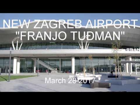 """New Zagreb Airport """"Franjo Tuđman"""""""