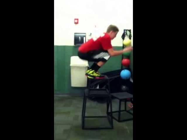 Waist Level Box Jump during Summer of 2013 [Nick Harding]