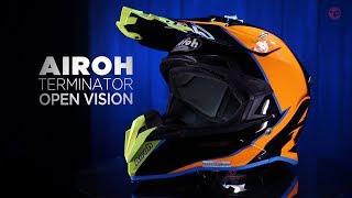 Airoh Terminator Open Vision MX Helmet