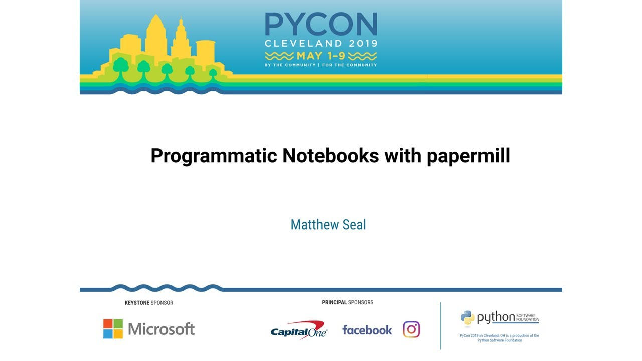 Image from Programmatic Notebooks with papermill