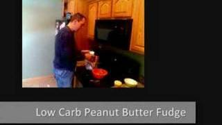 Atkins Diet Recipes: Low Carb Peanut Butter Fudge