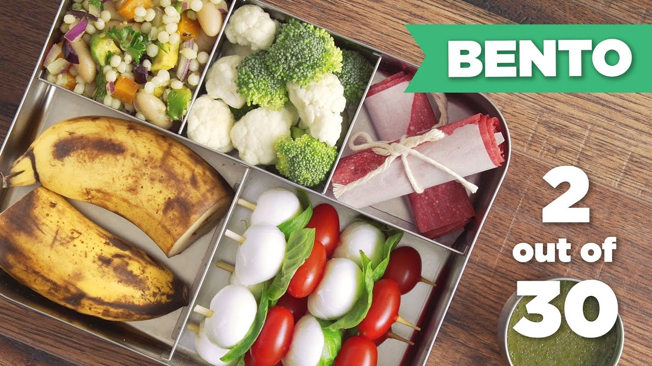 bento box healthy lunch 2 30 vegetarian mind over munch youtube. Black Bedroom Furniture Sets. Home Design Ideas