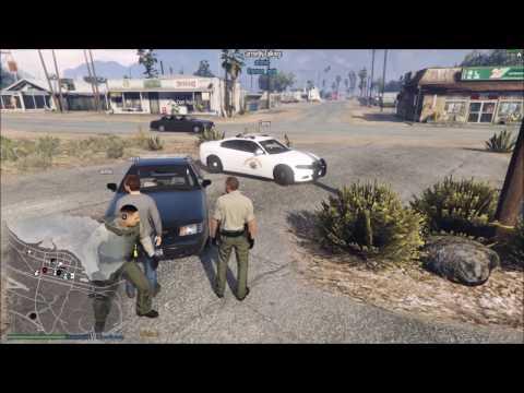 Felony Stop On Armed Individual | GTA 5 FiveReborn LSCS Police Roleplay