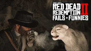 Red Dead Redemption 2 - Fails & Funnies #36