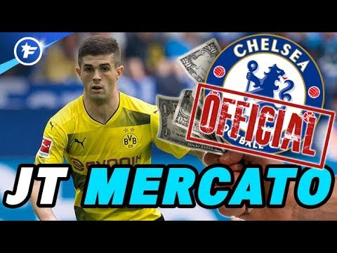 OFFICIEL : Chelsea s'offre Christian Pulisic pour 64 M€ | Journal du Mercato