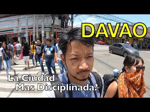DAVAO es la Ciudad Mas Disciplinada en Todo de Filipinas