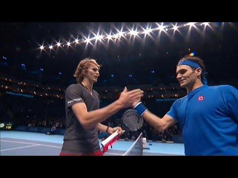 كرة المضرب: الألماني زفيريف يطيح بفيدرر في نصف نهائي بطولة الماسترز اللندنية…  - 22:53-2018 / 11 / 17