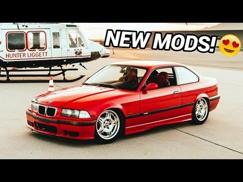 NEW BMW E36 M3 MODS!! (DIY)