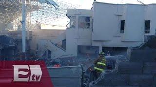Habitante de Cuajimalpa narra la explosión que derrumbó a hospital infantil