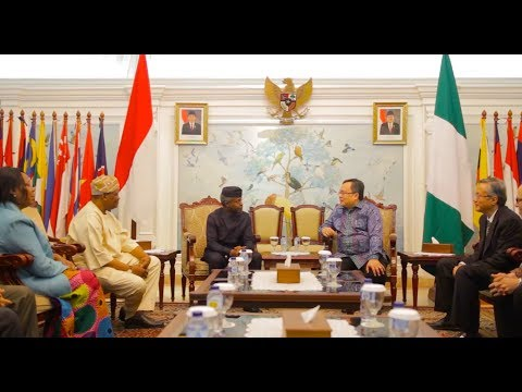 Prof. Yemi Osinbajo Arrives Jakarta for the (EITI) Beneficial Ownership Conference