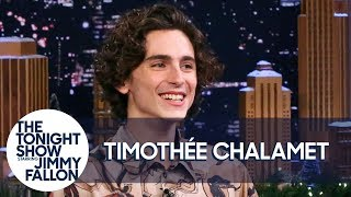 Timothée Chalamet Spills Details on Epic Dinner with Kanye and Kim Kardashian West