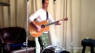 Bent on Conquest (Come Lamb of God) - J. Brian Craig w/lyrics and chords HD