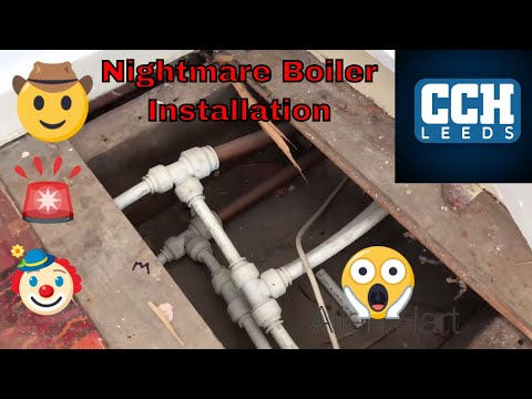Nightmare Installs, Central Heating Fails. Day In The Life Of A Gas Engineer / Plumber