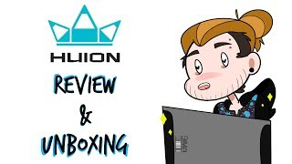 Huion GT-156HD V2 Drawing Monitor (review & unboxing)