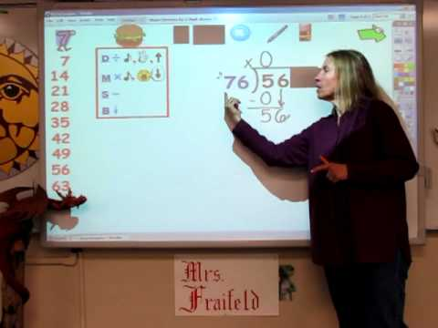 Dividing By A 2-digit Divisor