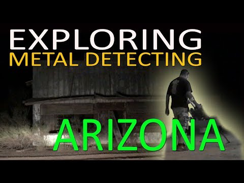 METAL DETECTING & EXPLORING ABANDONED ARIZONA WORK CAMP (IN