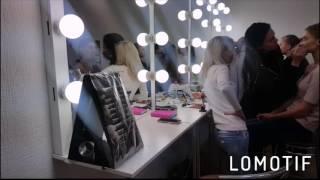 Учебный процесс в школе макияжа Ларисы Лариной