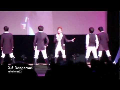 X-5 DANGEROUS (Tokyo, 23/12/2011)
