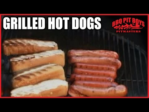 Grilled Hot Dogs Recipes By The BBQ Pit Boys