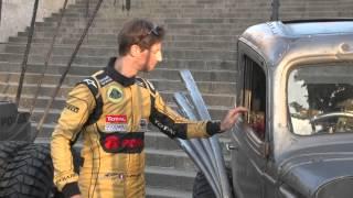 Mad Max: Na drodze gniewu- LOTUS TEAM F1 w filmowej stylizacji