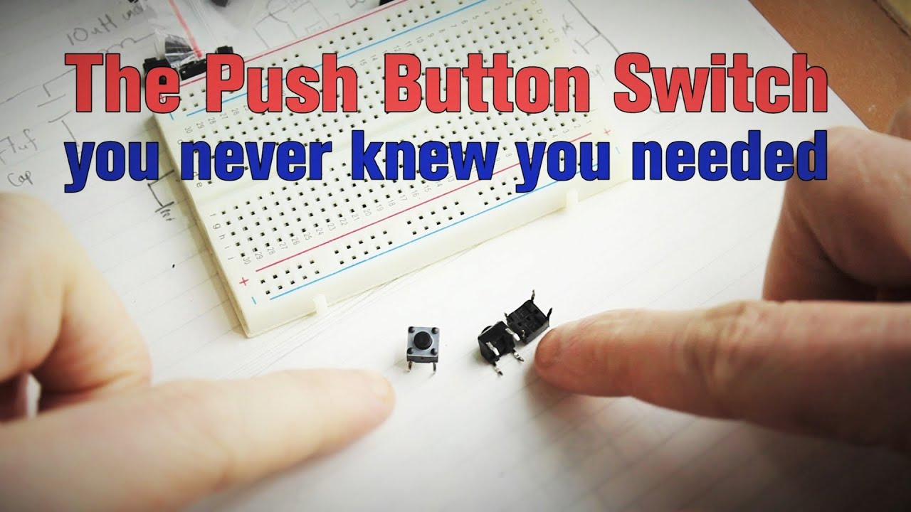 The Push Button Switch You Never Knew Needed Youtube On Off Led Buttons Electrical Wiring
