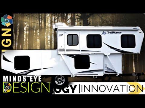 15 Must See Caravans, Campers & Motorhomes 2019 - 2020