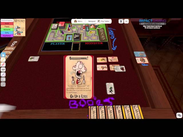 Tabletop Night - Lets Play Munchkin (6.6.15) [1/2]