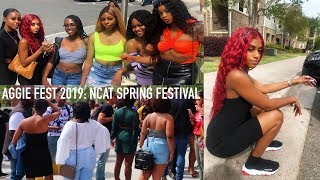 AGGIE FEST 2019: NCAT SPRING FESTIVAL | GHOE IN THE SPRING | FT. AFSISTER WIG