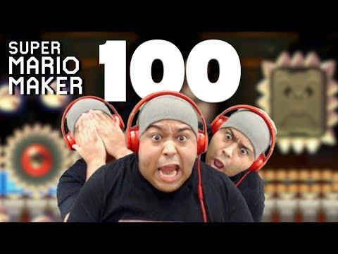 THE MOST INTENSE EPISODE EVER!!!!!! [SUPER MARIO MAKER] [#100]