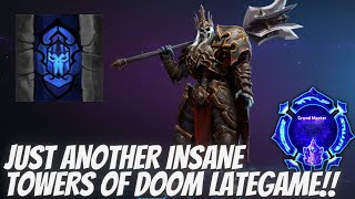 Leoric Entomb - Just another Towers of Doom Lategame! - Grandmaster Storm League