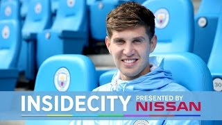 JOHN STONES' FIRST DAY! | Inside City 205