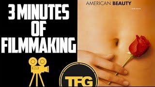 American Beauty 3 Minutes Of Filmmaking