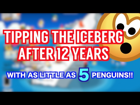 CLUB PENGUIN: HOW TO TIP OR FLIP THE ICEBERG!! MYSTERY SOLVED? 100% REAL [FULL EXTENSIVE TUTORIAL]