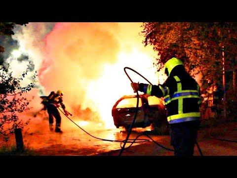 Autobranden teisteren Culemborg