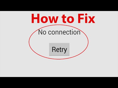 "How To Fix ""Google Play Store No Connection Error"" ?"