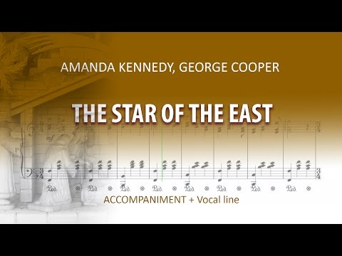 The Star of The East / Instrumental / Amanda Kennedy, George Cooper / Medium Voice