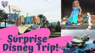Disney's Animation Resort Experience | Little Mermaid Room | Quick Look | Family Travel Vlog