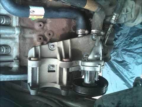 Cambio de bomba de agua en pointer 01 youtube for Cambiar bomba de agua