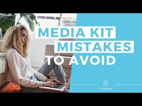 Media Kit For Bloggers & Influencers | TOP Mistakes To AVOID!