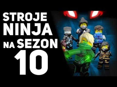 Nowe Stroje Ninja Na Sezon 10 Lego Ninjago Youtube