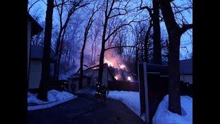 В Башкирии загорелась база отдыха «Медвежий хутор»