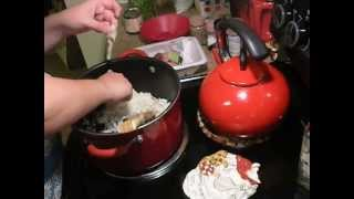 Cheesy Ground Beef Rice Casserole
