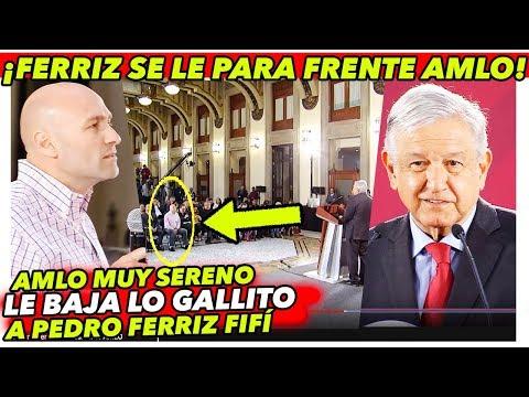 """AMLO para en seco a Pedro Ferriz que se le pone ENFRENTE """"Le dice de todo"""""""