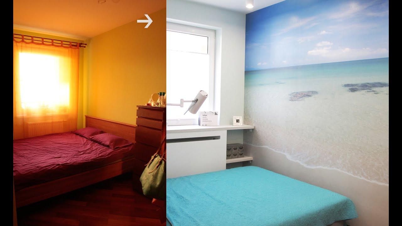 Szybkie Metamorfozy Odc84 Sypialnia Mała Laguna Aranżacje Wnętrz