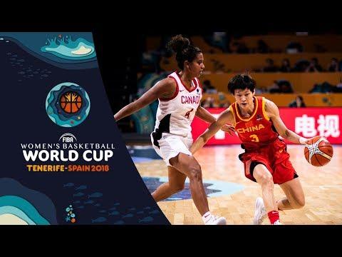 Canada v China - Full Game - Class. 5-8 - FIBA Women's Basketball World Cup 2018