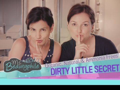 Natural, Organic, & Ammonia-Free Hair Dyes' Dirty Little Secret