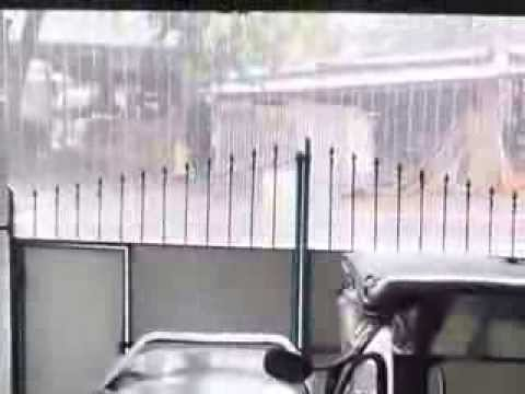 Typhoon created Heavy Rain in The Philippines!!!!