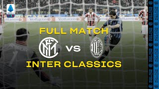 INTER CLASSICS with CORDOBA | FULL MATCH | INTER vs AC MILAN | 2011/12 SERIE A TIM #DERBYMILANO ⚫🔵