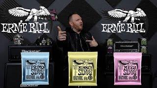 Brand New Ernie Ball Primo, Mega And Mammoth Slinky!!